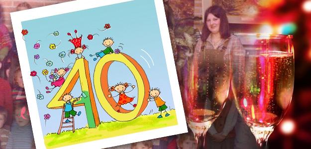 40 jaar juf Juf Nies vierde haar 40 jarig jubileum bij de basisschool  40 jaar juf